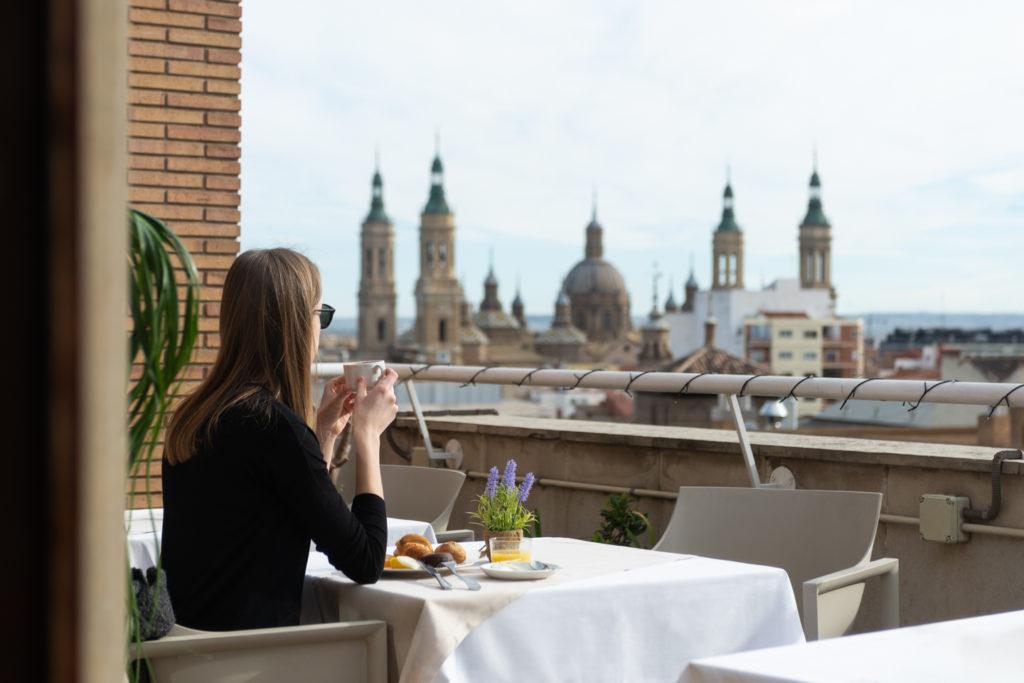 Terraza los Girasoles, unas vistas espectaculares de Zaragoza