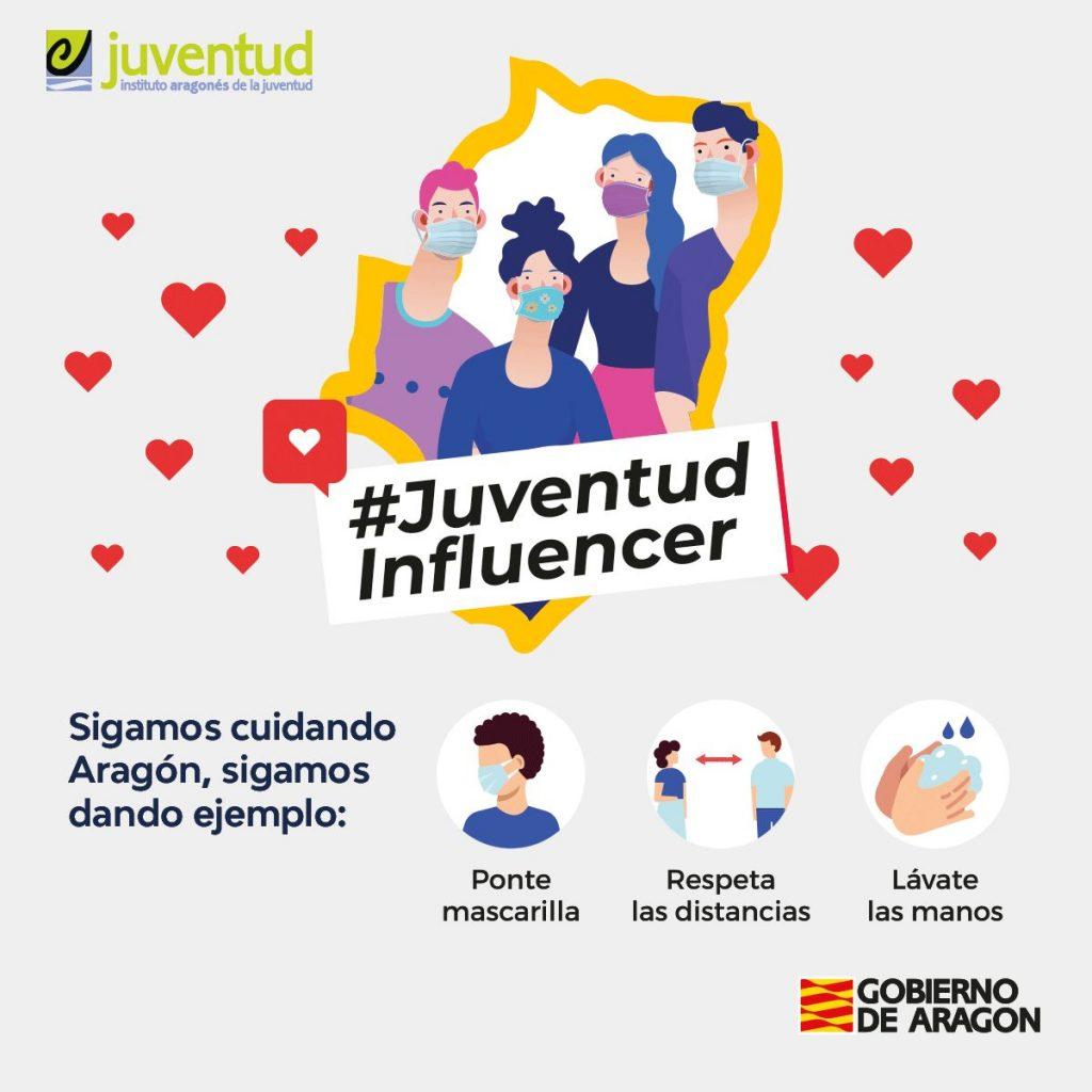 #JuventudInfluencer, la nueva campaña del IAJ