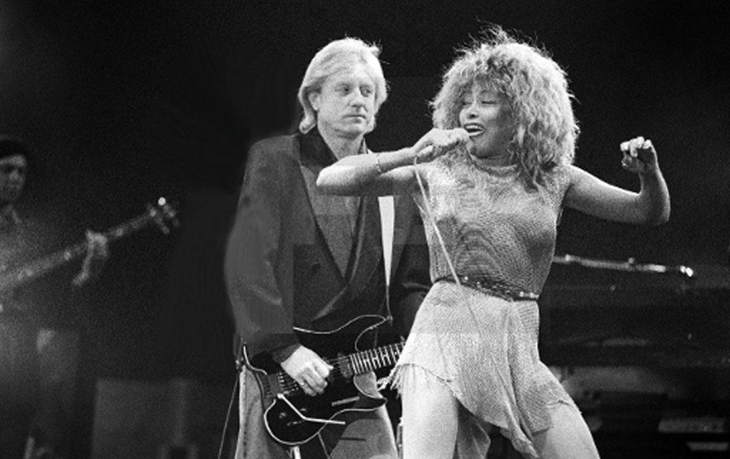 Actuación de Tina Turner en la Romareda el 9 de octubre de 1990