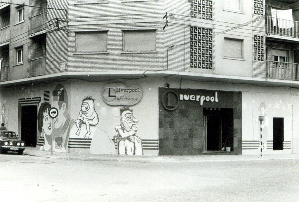Discoteca Liverpool, en Camino de las Torres, animaba la noche de Zaragoza