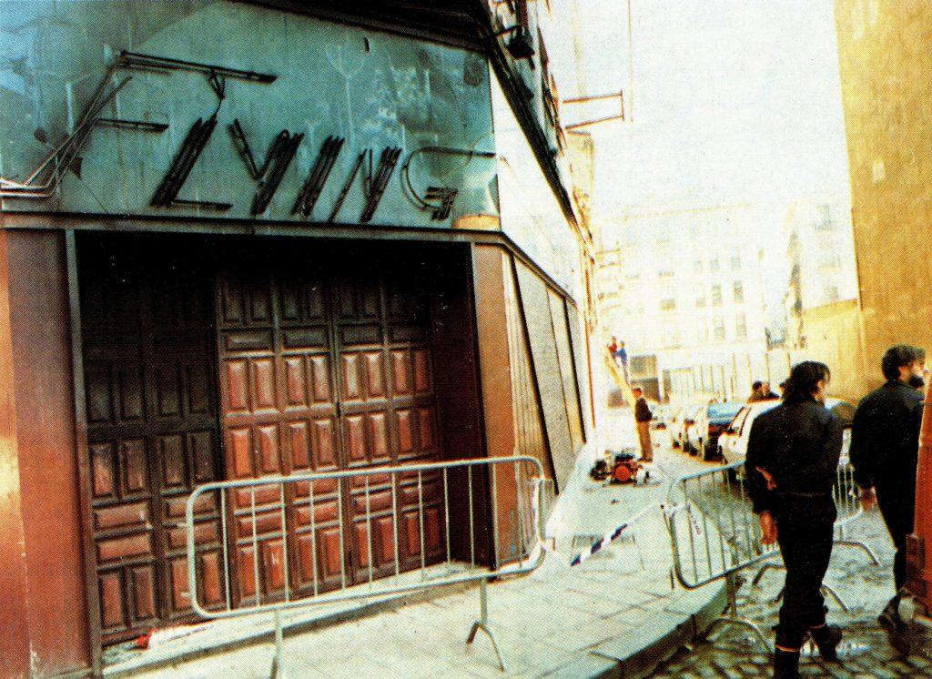 Incendio de la discoteca Flying el 14 de enero de 1990